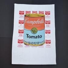 "Steve Kaufman, Original ""Campbell's Tomato Soup"". Hand signed SAK by Kaufman"