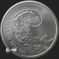 1 oz .999 FINE SILVER Don't Worry MiniMintage BU Silver Round .999 Fine In-Stock