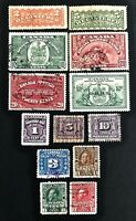 Canada Registered/Special Delivery/Postage Due/War Tax Stamps Used