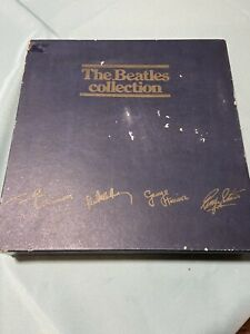 The Beatles Collection Blue Box Set Of 14 Records