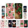 Soft TPU Silicone Case For Samsung Galaxy J7 2017 J330F Back Cover Christmas