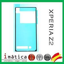 ADHESIVO TAPA SONY XPERIA Z2 D6502 D6503 D6643 PEGATINA TRASERA TRASERO BATERIA