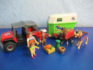 4189 Jeep Pferde Transport  Figuren zu 4190 5221 Reiterhof  Playmobil 5105