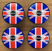 4 MINI Embleme Nabenkappen Nabendeckel London Edition R55 R56 R75 R58 ORIGINAL