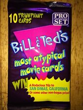 Bill & Ted's Most Atypical Movie Cards factory sealed 1991