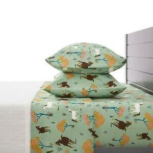 Horse Print Bed Sheets 3 Piece Set - Twin, Full, Queen Size from Polka Dots Roam