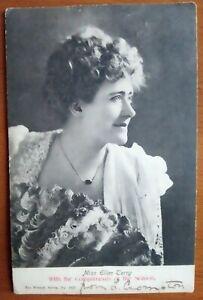 MISS ELLEN TERRY VINTAGE EDWARDIAN POSTCARD