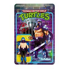 Shredder Teenage Mutant Nina Turtles TMNT 3 3/4 Inch ReAction Figur Super7