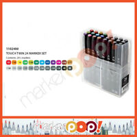 ShinHan Art TOUCH TWIN Marker Set 6 1100623 Fluorescent USA Authorized Dealer