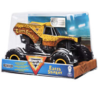 "Monster Jam Official ""Earth Shaker"" Monster Truck Die-Cast Vehicle 1:24 New 2020"