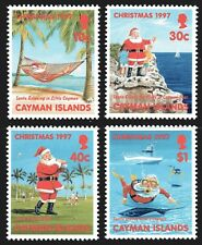 Cayman Islands 1997 Christmas set of 4 Mint Unhinged