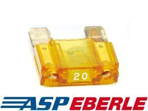 8xStreifensicherung Sicherung 50A AMP ANL Type Vergoldet Blade Fuses Für Auto AH