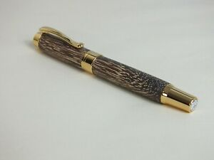 Lawyer classic deluxe fountain pen in bleeched Sucupira