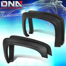 FOR 2007-2014 CHEVY SILVERADO FACTORY OE STYLE 4PC PAINTABLE WHEEL FENDER FLARES