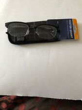NEW Foster Grant +2.00 Reading Glasses with Case