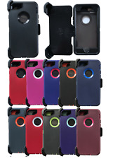 For iPhone 5/5S/SE/6/7/8/Plus/SE 2/ Case With (Belt Clip Fits Otterbox Defender)