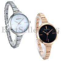 Fashion Classic Women's Ladies Alloy Quartz Analog Wrist Watch Slim Bracelet
