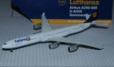 GEMINI JETS 1/400 LUFTHANSA / FANHANSA Airbus A340-600 D-AIHN