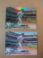 Gleyber Torres 2018 Topps Update #191   Rainbow Foil + base RC rookie card lot