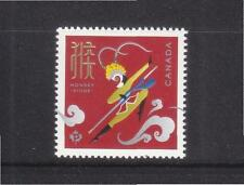 CANADA 2016 ZODIAC YEAR OF MONKEY (GOLD FOIL) COMP. SET OF 1  STAMP IN MINT MNH