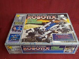 Rare sealed ROBOTIX Toy Lunar Launcher Learning Curve model erector set gift