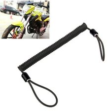 150cm Alarm Disc Lock Security Spring Reminder Cable Motorcycle Bike Scooter BK