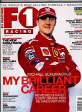 F1 RACING MAGAZINE June 2001 Michael Schumacher Coulthard Raikkonen