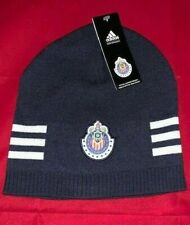 Chivas C.D. Guadalajara Adidas Beanie Knit Hat Adult One Size Mexico Liga MX NEW