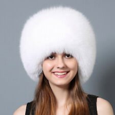 Fox Fur Hat with Rex Rabbit Fur Top