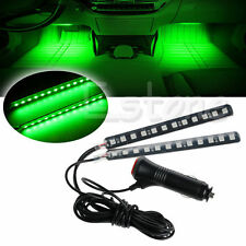 2x12 LED Car SUV Neon Stick Strip Interior Footwell Floor Decor Atmosphere Light