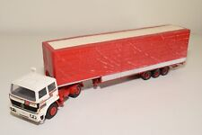 N WHITE METAL KIT RENAULT G260 TRUCK WITH TRAILER RED EXCELLENT CONDITION