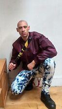 Skinhead Bleachers 34W 32L Men's Bleached Jeans