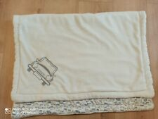 Zweilagige Babydecke, kuschelig weich, 75 x 100 cm
