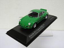 Porsche 911 Carrera RSR 2.8 Vipergrün mit schwarz 1973 Minichamps 430736902 1/43
