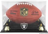 Oakland Raiders Team Logo Football Display Case - Fanatics