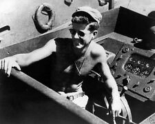 Lt. John F. Kennedy aboard PT-109 in the South Pacific 1943 JFK New 8x10 Photo