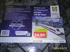 LIDL Ticket für eine einfache Fahrt durch Deutschland (DB, digitales Bahnticket)