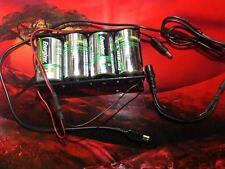 4D Battery Holder 5V DC Long Life Portable USB Power Source Cable BATTERY PLUG