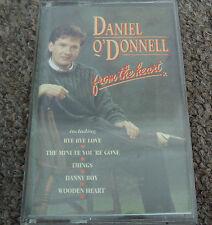 DANIEL O'DONNELL FROM THE HEART CASSETTE TAPE ALBUM