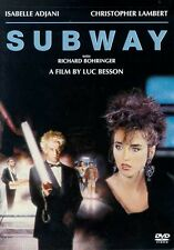 SUBWAY ISABELLE ADJANI CHRISTOPHER LAMBERT LUC BESSON  NEW SEALED DVD OOP