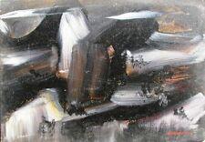 GIANDANTE X (Dante Pescò Milano 1899-1984) NUVOLE sulle VETTE cm 35x50 anni '60