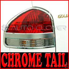 Chrome Tail Light Lamp Cover For 05 06 Hyundai Santa Fe