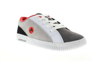 Airwalk The One Suede TRI Mens Gray White Skate Sneakers Shoes 8