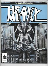 Heavy Metal Magazine Vol 4 #3 June 1980 H R Giger Wrightson Caza FN+ 1977 Series