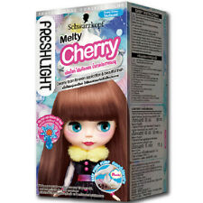 [SCHWARZKOPF BLYTHE] Fresh Light Creamy Foam Series Hair Dye Kit MELTY CHERRY