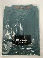 Rohan Stratum Polo Jewel Green Mens Collared Short Sleeve Shirt Size M BNWT