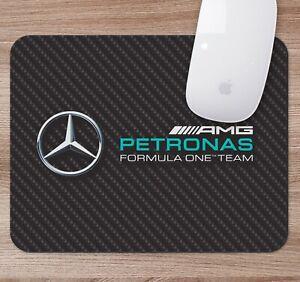 AMG Racing Mercedes Hamilton F1 Formula 1 Laptop Desktop Computer Mouse Mat Pad