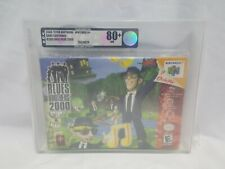 NEW Blues Brothers 2000 Nintendo 64 VGA 80+ NM N64 Sealed Game Graded the bros