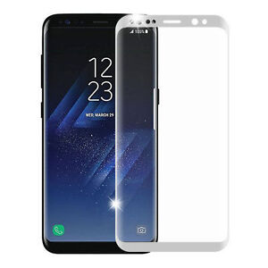 3D Curved Tempered Glass Screen Protector for Samsung Galaxy S9 S8 Plus S7 Edge
