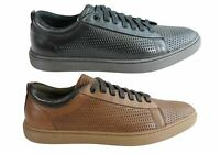 NEW FERRICELLI FINCH MENS LEATHER LACE UP CASUAL SHOES MADE IN BRAZIL